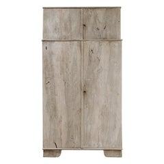 4-Doors Walnut Cupboard