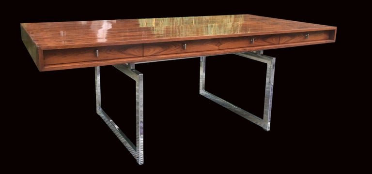 His stunning and very rare desk, originally called a 'working table' by it's designer when she designed it in 1959 for the Massachusetts Institute of Technology, is an absolute design classic from one of Denmark's most revered furniture designers