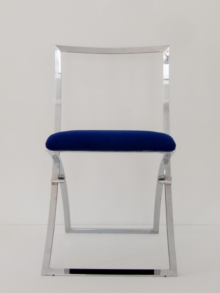 Late 20th Century 4 Folding Chairs