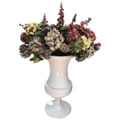 4 FT Tall White Garden Urn or Poolside Champagne Bucket
