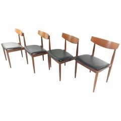 4 Kofod Larsen Teak G Plan Danish Dining Chairs 1960s Vintage Midcentury Se