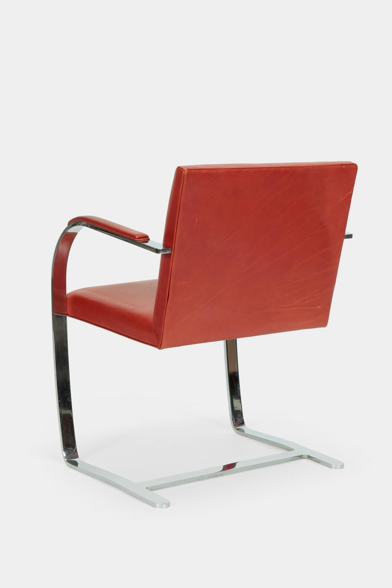 4 Mies Van der Rohe Brno Chairs Knoll Int, 1960s For Sale 5