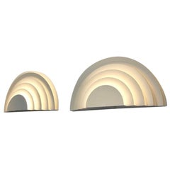 4 Pair Meander Sconces by Cesare Casati and Emanuele Ponzio for RAAK, Amsterdam