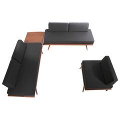4 Pc. Suite Mel Smilow Furniture 2 Sofas 1 Lounge Chair 1 Table
