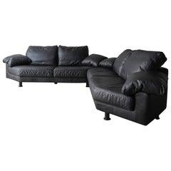 4 Piece Postmodern Italian Modular Sectional Sofa