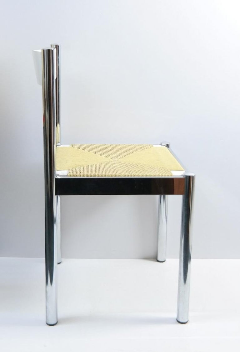 4-Piece Suite Italian Modern Chairs, Formenti e Giovenzana, Italy, 1960s In Good Condition For Sale In Budapest, HU
