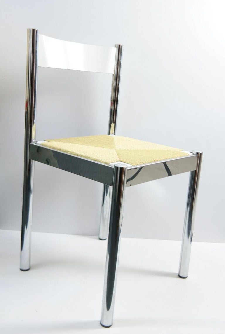Mid-20th Century 4-Piece Suite Italian Modern Chairs, Formenti e Giovenzana, Italy, 1960s For Sale