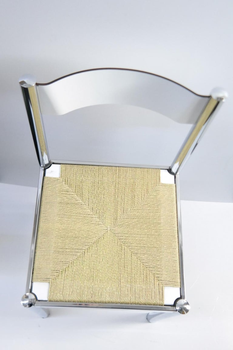4-Piece Suite Italian Modern Chairs, Formenti e Giovenzana, Italy, 1960s For Sale 3