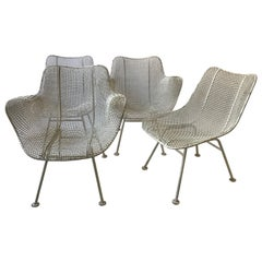 4 Sculptura Chairs by Woodard