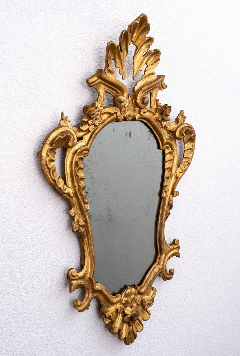 Grand Tour 4 Tuscan Giltwood Mirrors For Sale