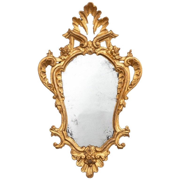 4 Tuscan Giltwood Mirrors For Sale