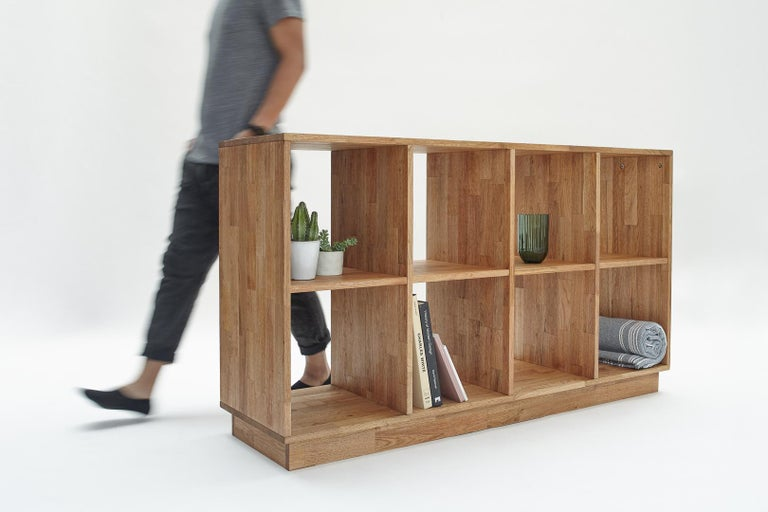 4 x 2 Bookcase LAXseries by MASHstudios In New Condition For Sale In Los Angeles, CA