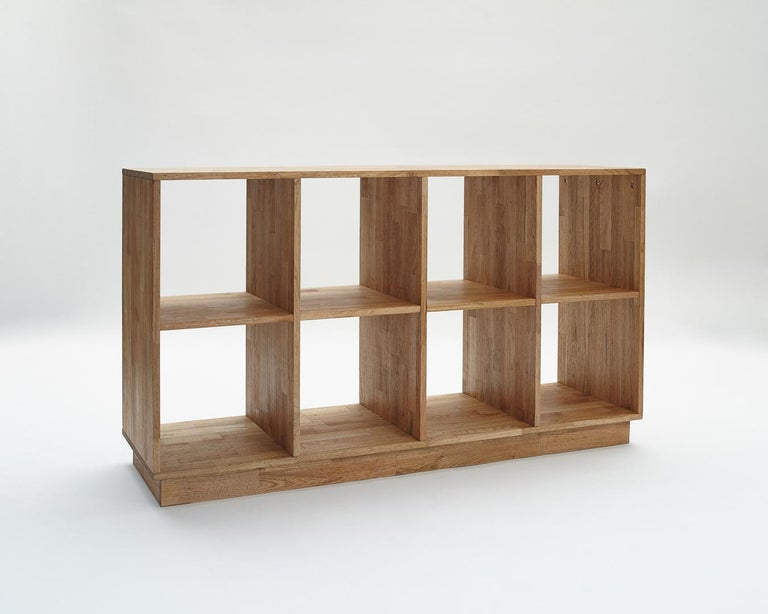 Contemporary 4 x 2 Bookcase LAXseries by MASHstudios For Sale