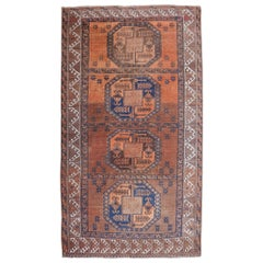 Ersari Tribal Turkoman Semi Antique Carpet