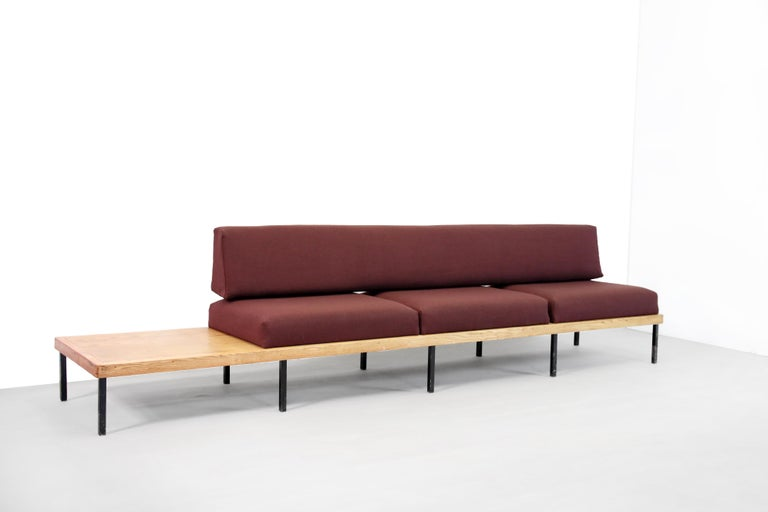 40 5000 Minimalist Oak Wooden Design Bench Sofa For Sale At 1stdibs
