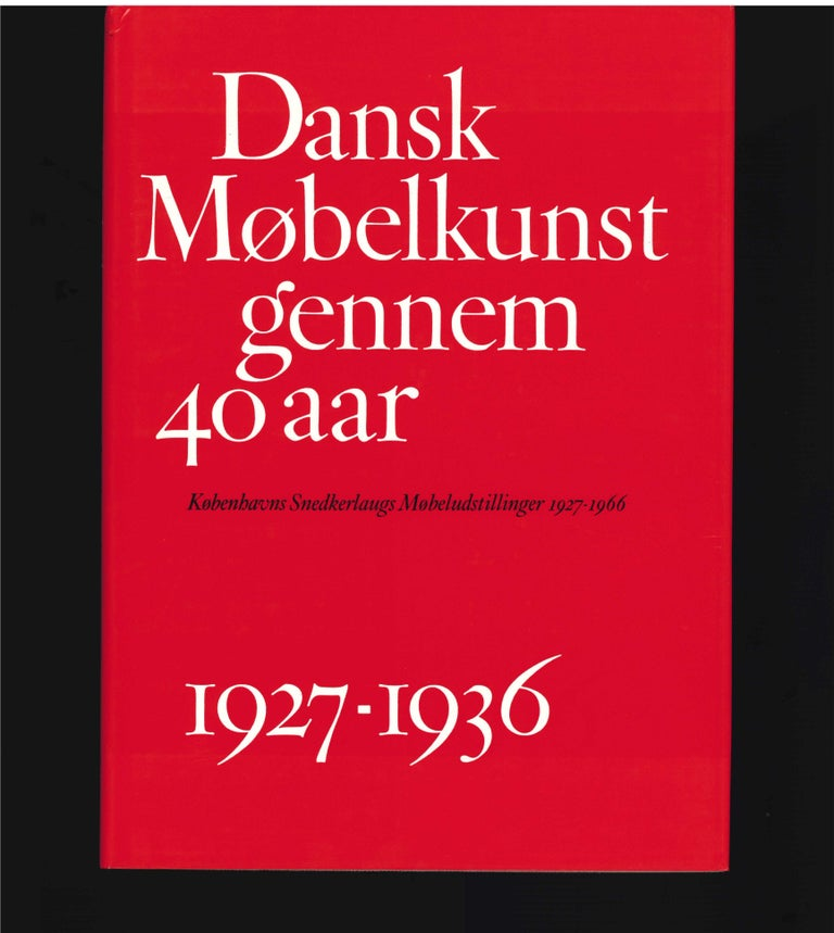 40 Years of Danish Furniture Design is a four volume work of 1,350 pages and 1,800 pictures, each volume covering a decade. The author - Greta Jalk carried out the tremendous work of registering the furniture makers and architects participating in