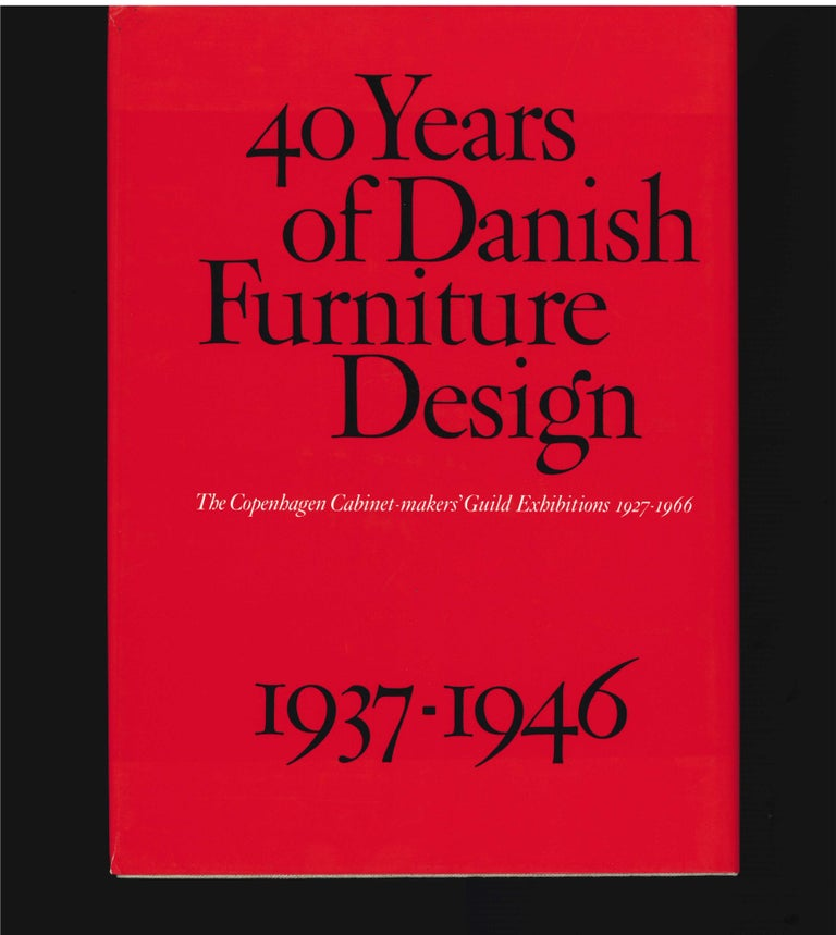 20th Century 40 Years of Danish Furniture Design 1927-1966, Set of 4 Books For Sale