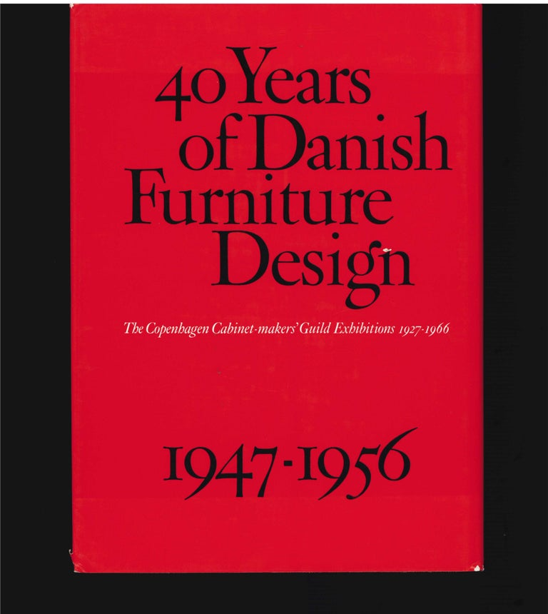 40 Years of Danish Furniture Design 1927-1966, Set of 4 Books For Sale 1