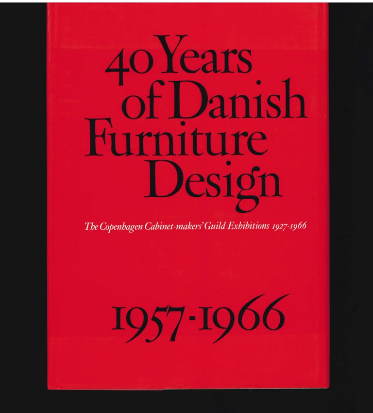 40 Years of Danish Furniture Design 1927-1966, Set of 4 Books For Sale 4