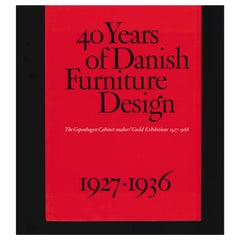 40 Years of Danish Furniture Design 1927-1966, Set of 4 Books