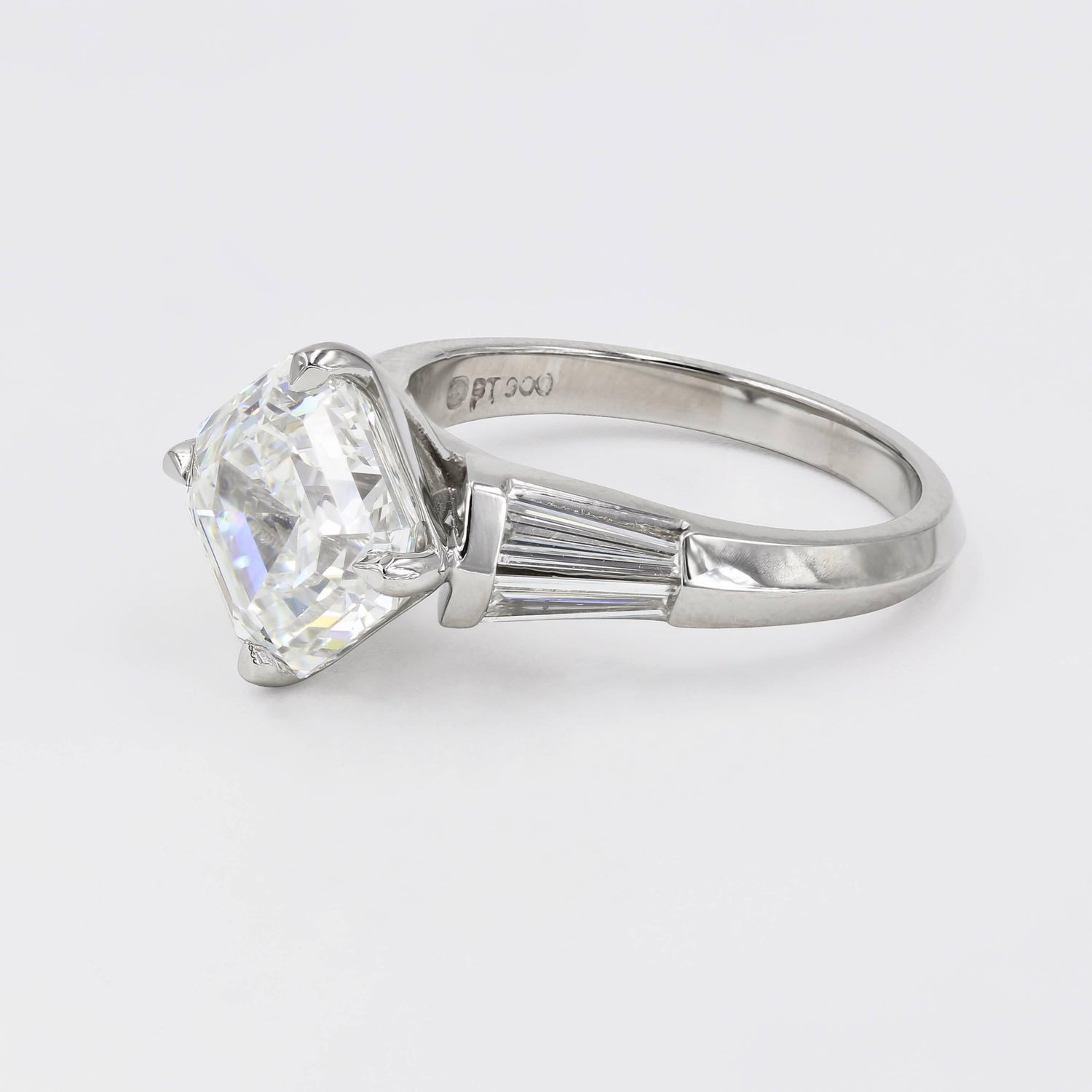 cut engagement diamond asscher classic s specialist campbell finest ring solitaire the dublin jewellers products rings