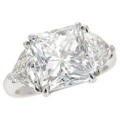 4.03 Radiant-Cut Diamond Ring GIA I SI1