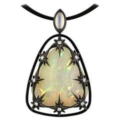 40.35 Carat Mystical Opal Pendant by Zoltan David