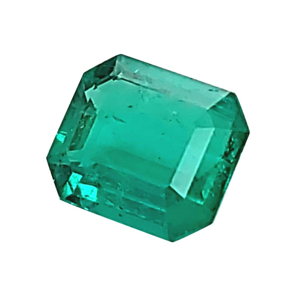 4.04 Carats GRS Certified Natural Colombian Emerald Precious Gemstone