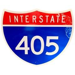 405 Freeway Sign
