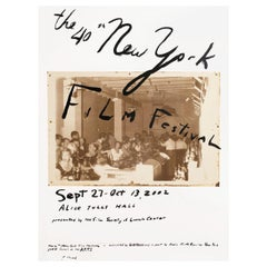 """40th New York Film Festival"" 2002 U.S. Poster"