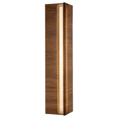 Riviera Sconce in Oiled Walnut by May Furniture
