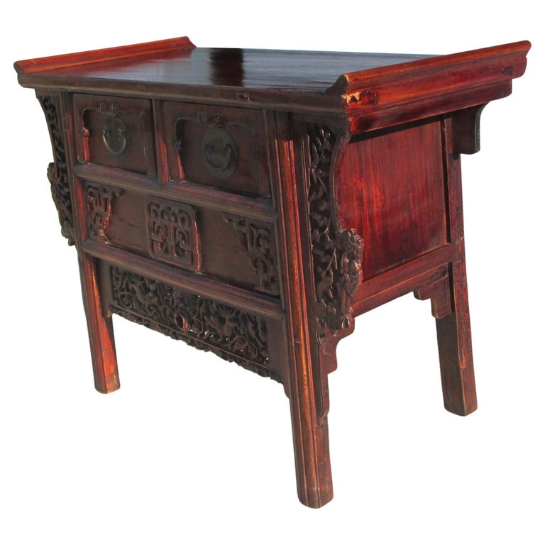 19th Century Qing Period Chinese Alter Console For Sale