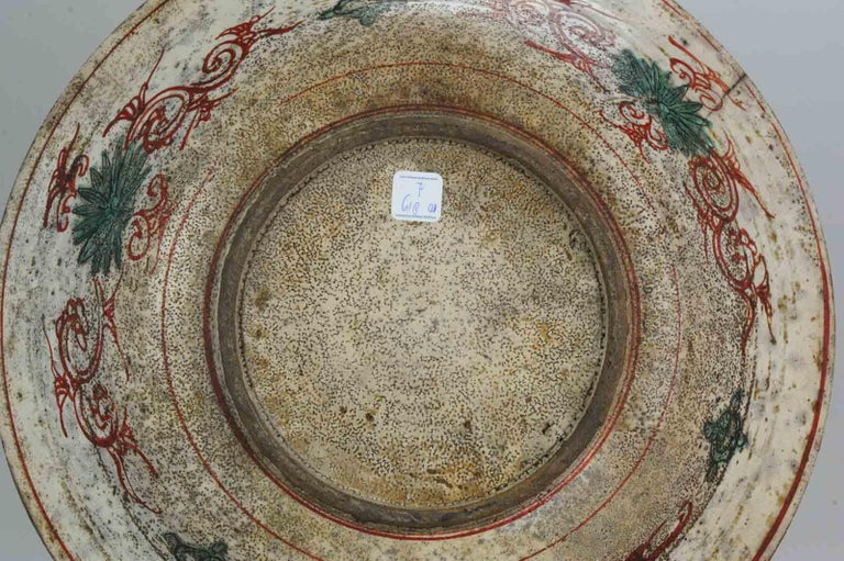 Antique Chinese Porcelain Wanli 16th-17th Century Ming Swatow Large Plate For Sale 11