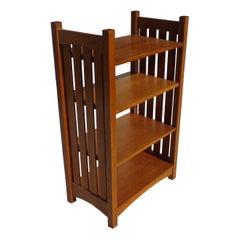 41.5 Stickley Mission Collection Oak Bookcase