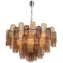 4150/S90 Colored Glass Chandelier