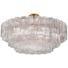4170/PL95 Clear Glass Ceiling Light