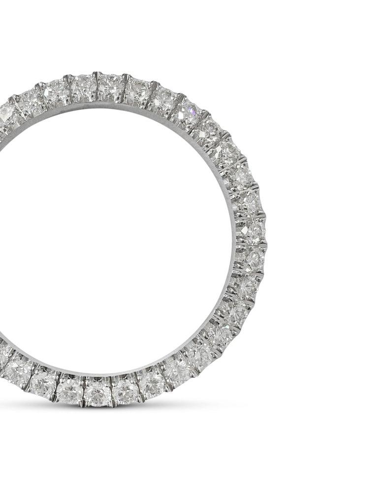 Modern Rolex Diamond Bezel Stainless Steel For Sale