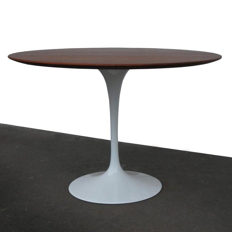 American Knoll Saarinen Walnut Dining Table For Sale