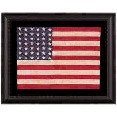 42 Star American Parade Flag, Washington Statehood, circa 1889-1890