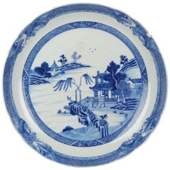 18th Century Chinese Porcelain Qianlong Period Blue and White