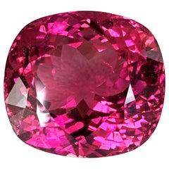 44.97 ct. Purple Pink Tourmaline, GIA, Loose Pendant, Enhancer, Collector Gem