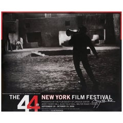 """44th New York Film Festival"" 2006 U.S. Poster Signed"