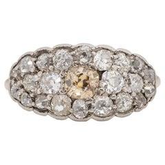 .45 Carat Edwardian Diamond 14 Karat Yellow Gold Engagement Ring