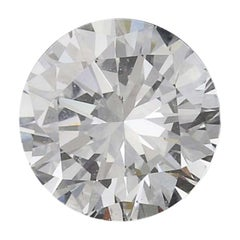 .45 Carat Loose Diamond, Round Brilliant Cut GIA Graded Solitaire SI1 E