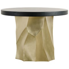 Black Lacquer Entry Table Top by Robert Kuo, Limited Edition