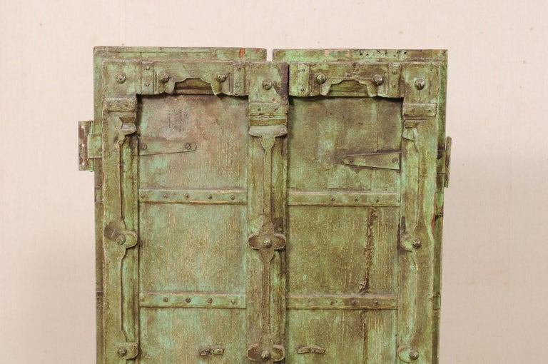 Indian Turn of the Century Doors from India on Custom Stand For Sale