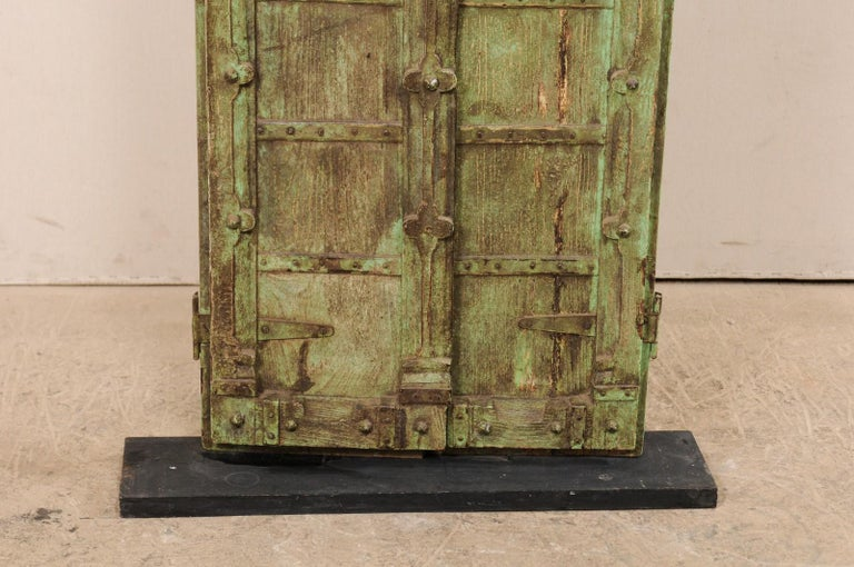 19th Century Turn of the Century Doors from India on Custom Stand For Sale
