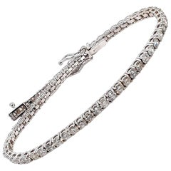 4.50 Carat Diamond Tennis Bracelet