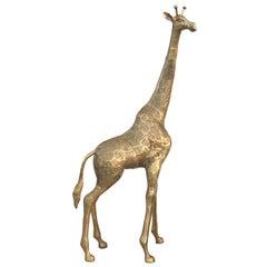 Brass Giraffe