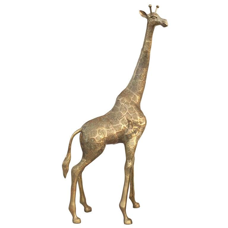 Brass Giraffe For Sale